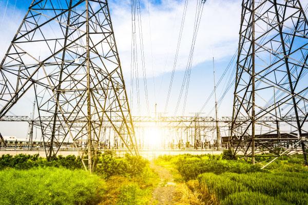 electric grids in green fields