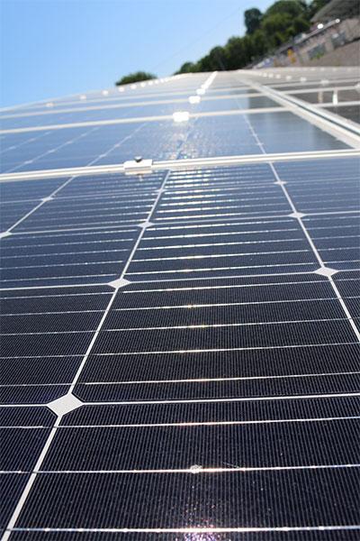 Power Generation solar plates